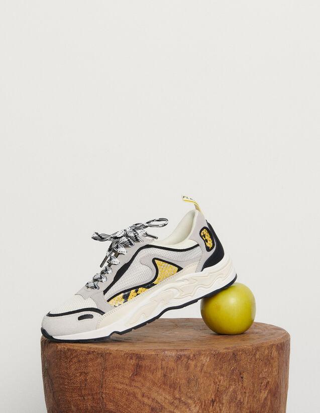 Deportivas Flame : Todos Zapatos color python jaune