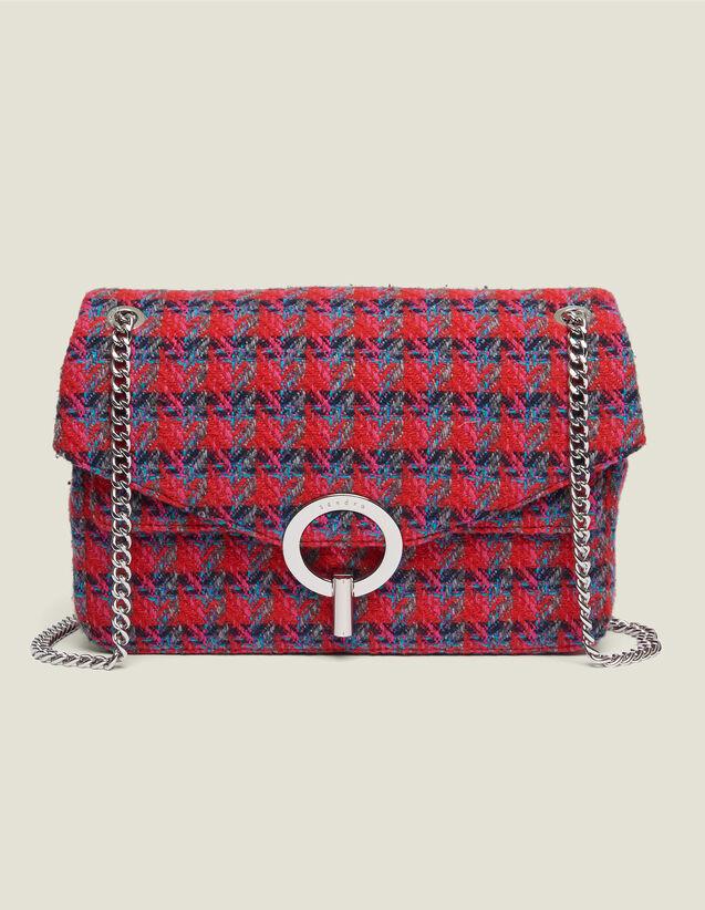 Bolso Yza de tweed : Toda la colección de Invierno color Rojo