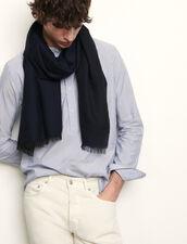 Bufanda bicolor reversible : Bufandas color Marino