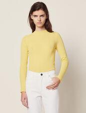 Jersey De Punto Fino : null color Amarillo