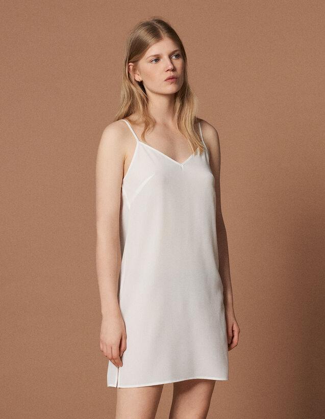 Combinación De Vestido : null color Crudo