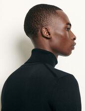 Jersey de cuello vuelto de lana : Jerseys & Cárdigans color Rosa