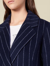 Abrigo Largo De Doble Cara : FBlackFriday-FR-FSelection-Blousons&Manteaux color Navy