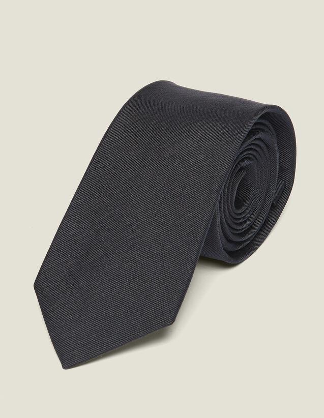 Corbata clásica de twill de seda : Lazos & Mariposas del arco color Marino