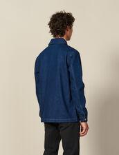 Chaqueta De Trabajo De Denim : Colección de invierno color Blue Vintage - Denim