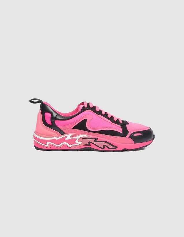 Deportivas Flame : Todos Zapatos color Rosa Fosforito