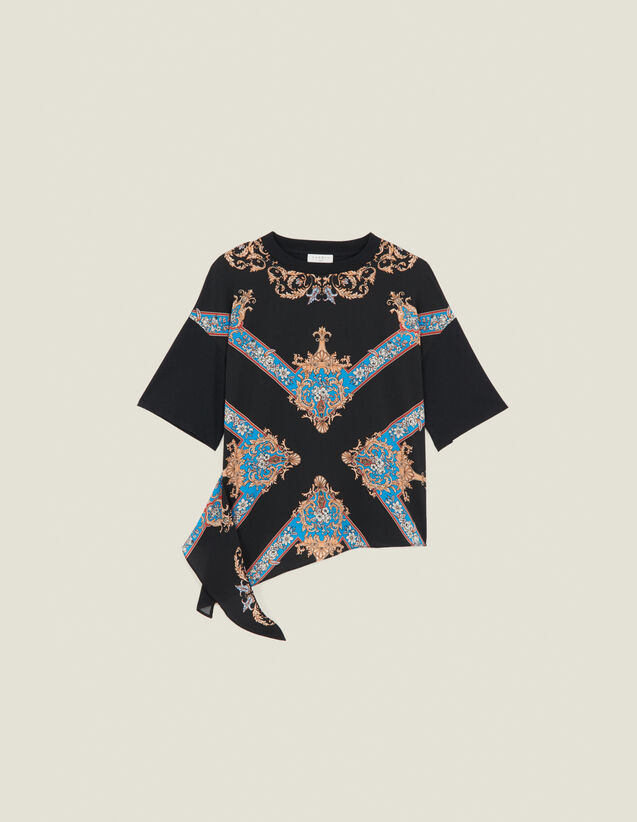 Camiseta estampada con inserto : FBlackFriday-FR-FSelection-30 color Negro