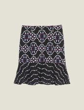 Falda Corta De Guipur : Faldas & Shorts color Negro