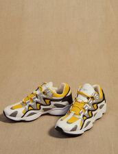 Zapatillas De Mezcla De Material : SOLDES-CH-HSelection-PAP&ACCESS-2DEM color Azul