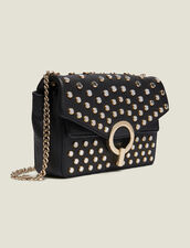 Bolso Yza modelo pequeño con tachuelas : Todos Bolsos color Negro