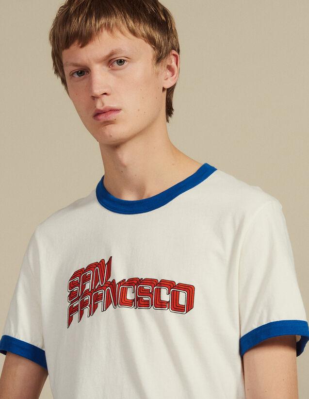 Camiseta Con Mensaje : Camisetas & Polos color Blanco