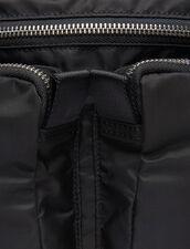 Bolso Riñonera : Toda la Marroquinería color Negro