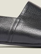 Zapatos De Piel Graneada : Sélection Last Chance color Negro