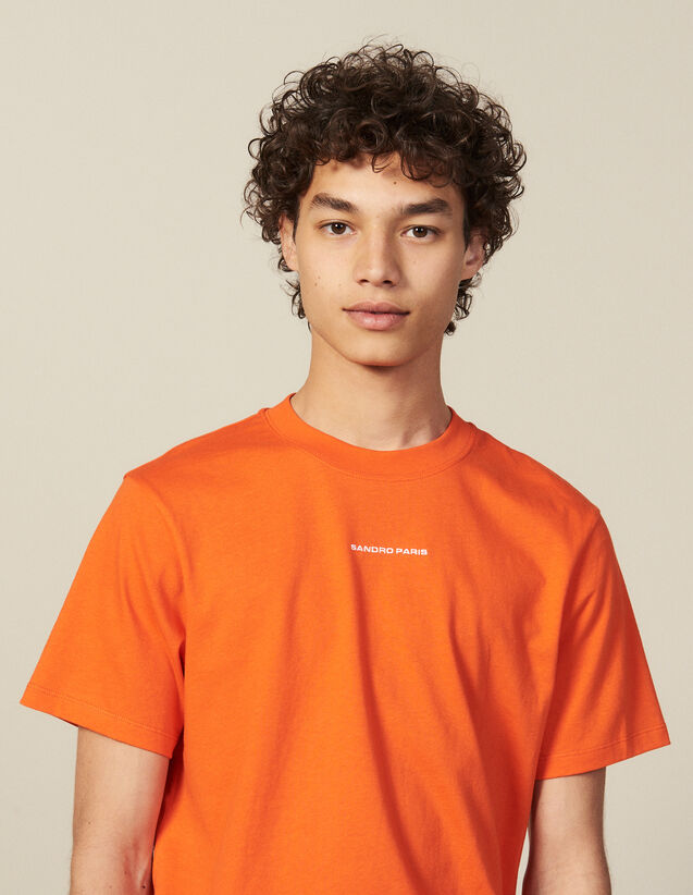 Camiseta De Algodón : Nueva Colección color Naranja