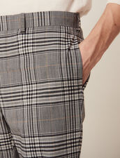 Pantalón De Traje De Corte Clásico : Trajes & Smokings color Gris