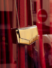 Bolso Lou Modelo Pequeño : null color Oro