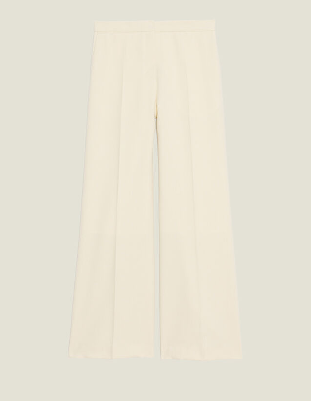 Pantalón De Sastre : Pantalones color Crudo