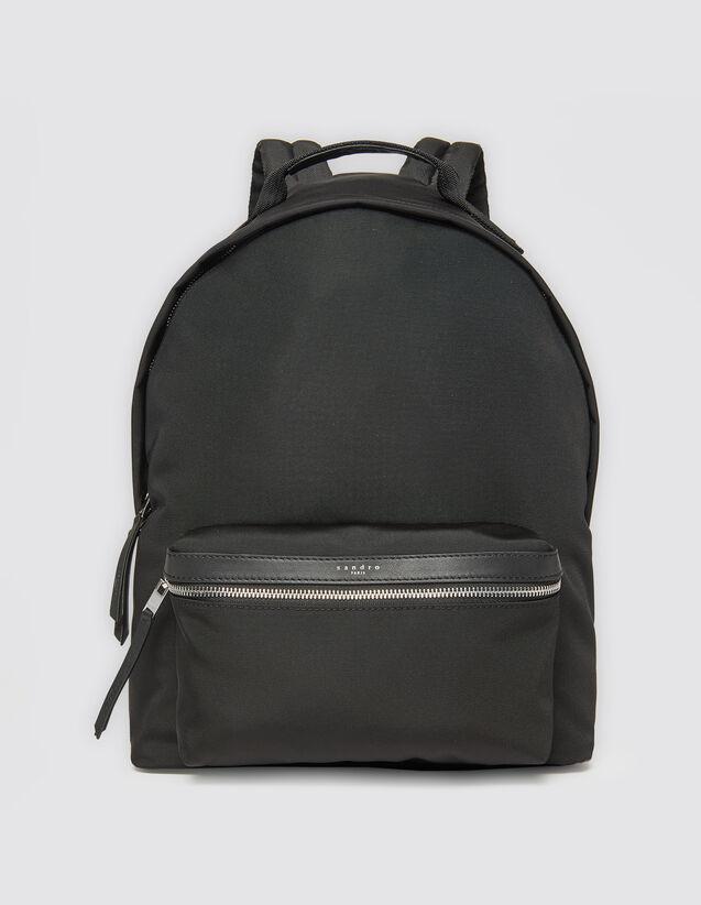 Bolso de tejido técnico : Toda la Marroquinería color Negro