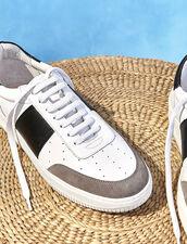 Deportivas de piel : Zapatos color Blanco
