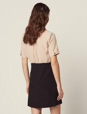 Vestido Trampantojo Con Camisa : null color Negro