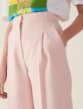 Pantalón De Sastre 7/8 A Juego : null color Rosa