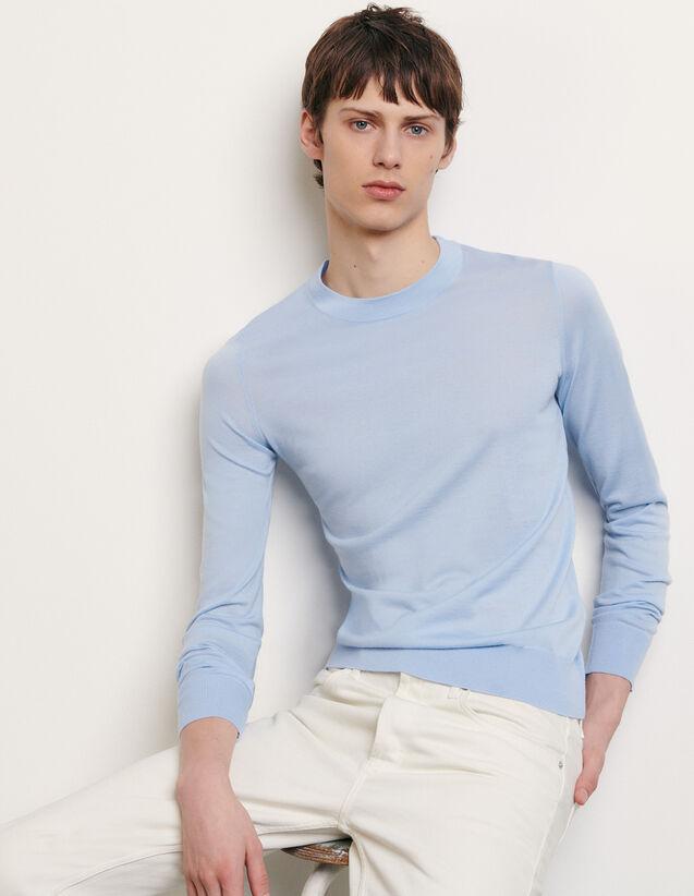 Jersey de lana merino : Jerseys & Cárdigans color Marino