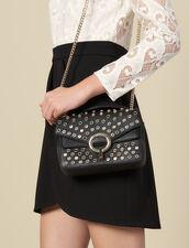 Bolso Yza modelo pequeño con tachuelas : Toda la colección de Invierno color Negro