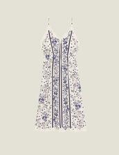 Vestido De Tirantes, Estilo Picardías : null color Azul