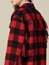 Chaqueta camisera oversize : Cazadoras & Chaquetas color Rouge/Noir