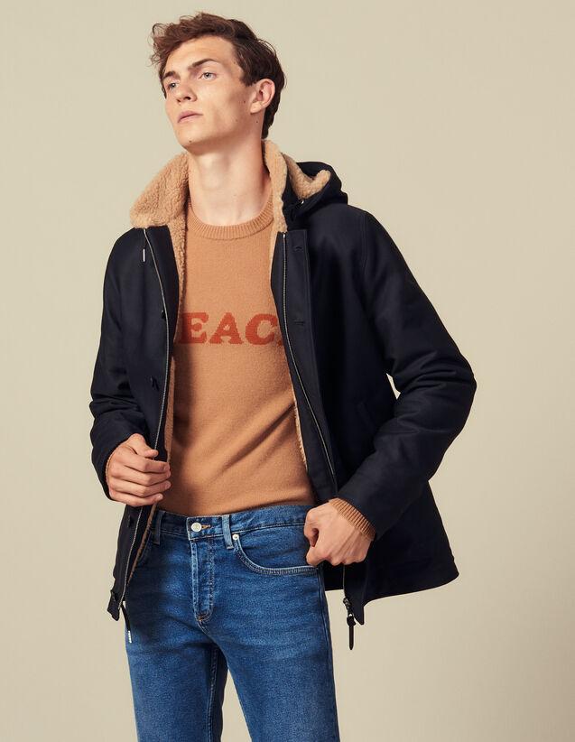 Parka Deck Jacket : Trenchs & Abrigos color Caqui