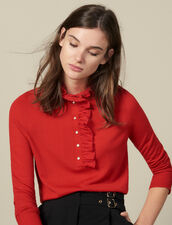 Jersey Con Tul En El Cuello : FBlackFriday-FR-FSelection-30 color Rojo