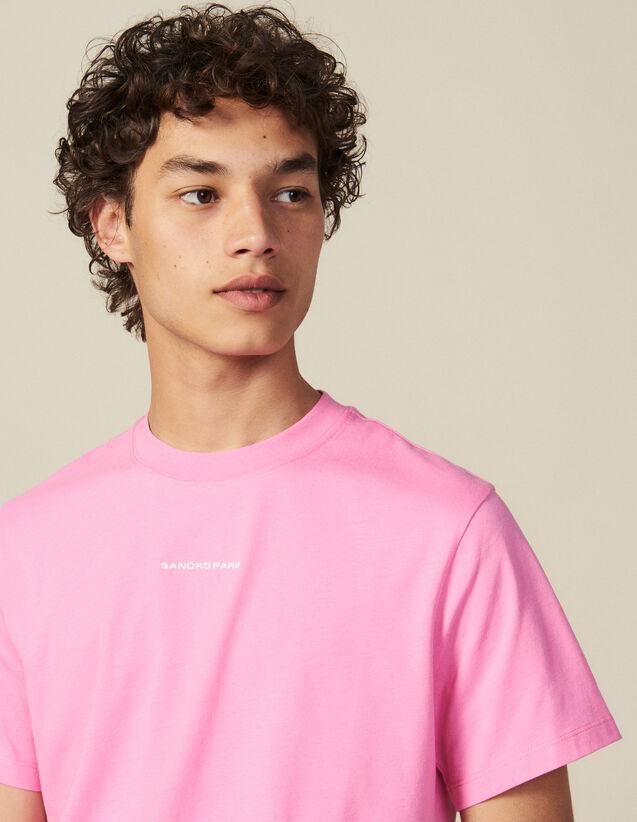 Camiseta de algodón : Toda la colección de Invierno color Rosa