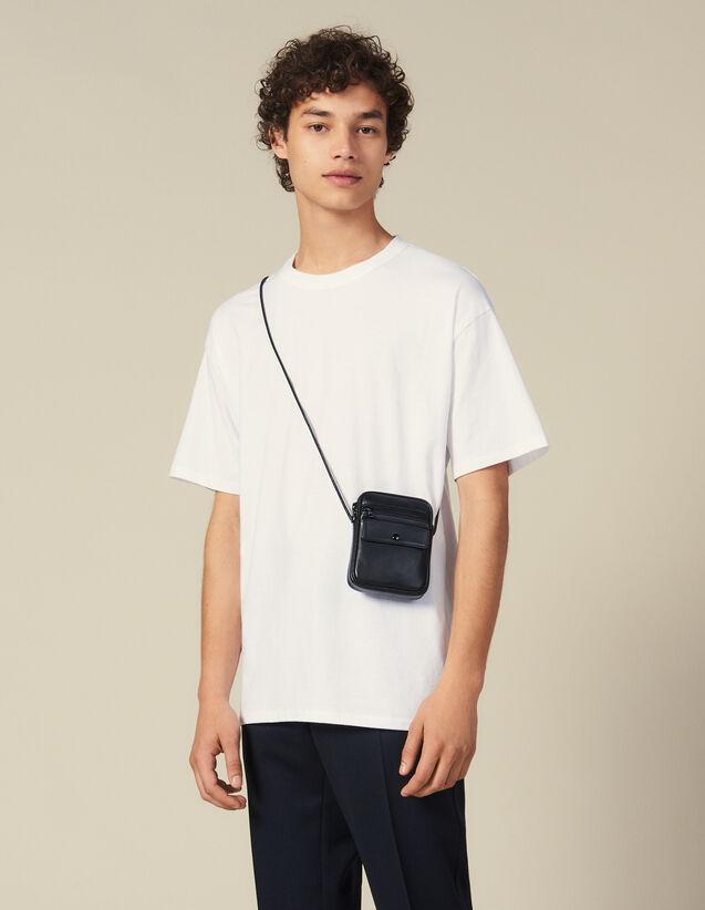 Camiseta De Algodón : Toda la colección de Invierno color Negro