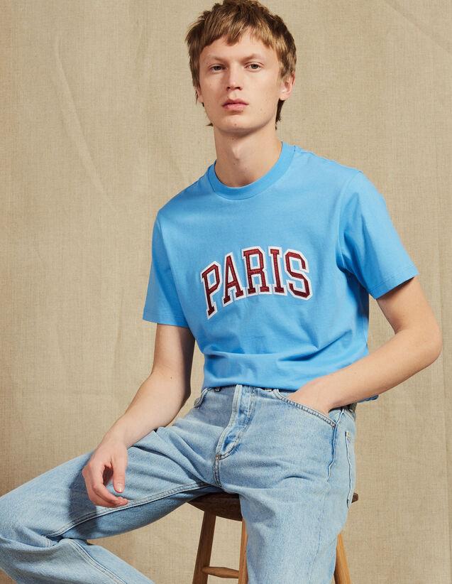 Camiseta Con Parche Con Mensajes : Camisetas & Polos color Blanco