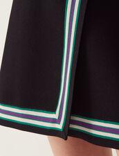 Falda Cruzada De Punto : LastChance-FR-FSelection color Negro