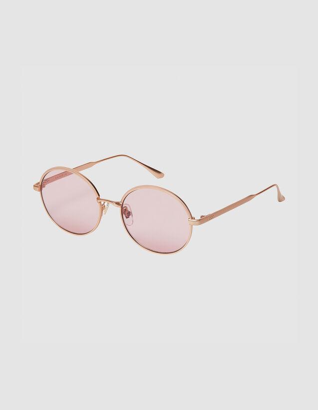 Gafas Redondas : Gafas de sol color Doré/Noir