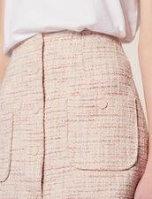 Falda Corta De Tweed : LastChance-FR-FSelection color Rosa