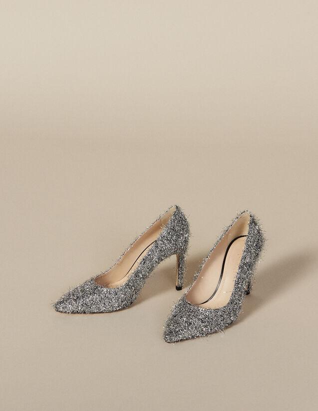 Escarpines Con Escote En V : Todos Zapatos color Plata