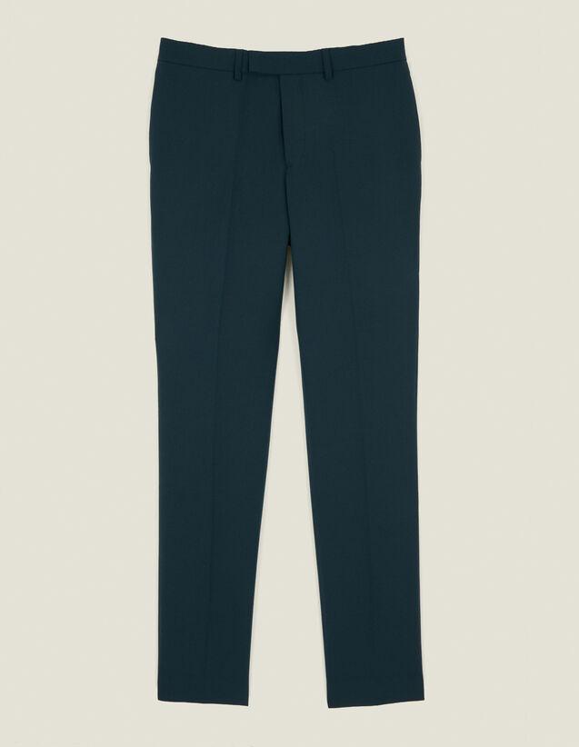Pantalón De Traje : Trajes & Smokings color Vert foncé