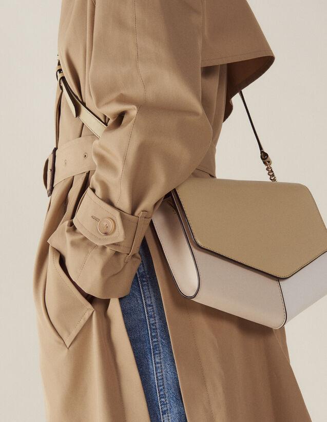Bolso Lou Modelo Grande : Coleccion de verano color Beige/Blanc/Ecru
