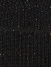 Gorro De Lúrex : Guantes & Gorros color Negro