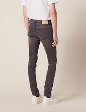 Vaquero Destroy - Corte Skinny : Sélection Last Chance color Gris