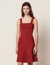 Vestido De Tirantes De Punto : null color Terracota