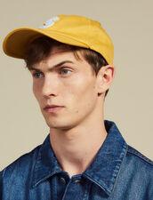 Gorra Con Parche S : La maleta de verano color Amarillo