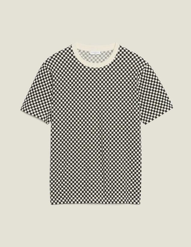 Camiseta Damera De Algodón : Camisetas & Polos color Negro