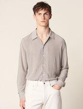 Camisa Con Motivo Micro Fluida : Copy of Toda la Selección color Negro/Blanco