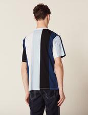 Camiseta De Rayas Anchas : Sélection Last Chance color Azul