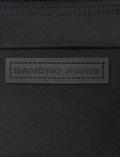 Bolso riñonera bandolera : Toda la Marroquinería color Negro