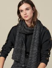 Bufanda de lúrex : Toda la colección de Invierno color Gris Oscuro
