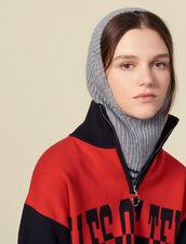 Pasamontañas de lana y cachemira : Toda la colección de Invierno color Gris